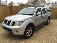 NISSAN NAVARA DCI ACENTA 4X4 DCB WITH TRUCK TOP , Silver, Manual, Diesel, 2010