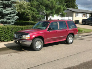 1996 Ford Explorer 4x4, 4 door.