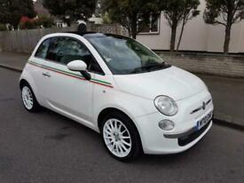 image for 2010 Fiat 500 1.4 Lounge (s/s) 3dr Hatchback Petrol Manual