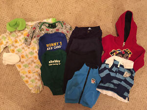 Baby Boy clothing, 0-3 months