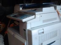 Ricoh Rex-rotary MP C3000 photocopier printer + 9 boxed printer cartridges, can deliver for a charge
