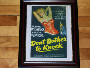 Marilyn Monroe, Don't Bother To Knock - Classic Movie Print! West Island Greater Montréal image 1