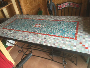 Mosaic Pier One table