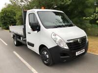 2015 65 VAUXHALL MOVANO TIPPER 2.3CDTI 125BHP L3 H1 1 OWNER ANY UK DELIVERY