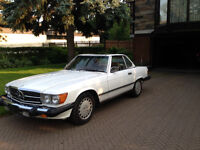 Amazing 560 SL Mercedes Great opportunity