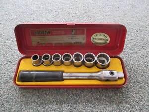 old sidchrome socket set 1/2 square drive Devonport Devonport Area Preview
