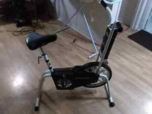 Exercise bike multiple speeds