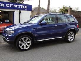 BMW X5 3.0D DIESEL LE MANS BLUE SPORT EDITION AUTO ** 2006 **