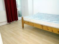 1 SPECIOUS DOUBLE/TWIN ROOM FOR WORKING PROFESSIONALS AVAILABLE TO LET NEAR TO FOREST GATE STATION