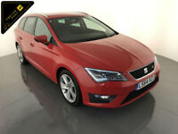 2014 SEAT LEON FR TECHNOLOGY TDI DIESEL ESTATE 1 OWNER SEAT HISTORY FINANCE PX