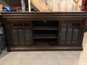 Beautiful Entertainment Unit from The Brick - Want Gone ASAP!