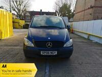 2006 Mercedes-Benz Vito 2.1 111CDI Traveliner Extra Long Bus 5dr Auto +9 Seater