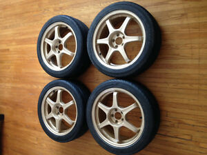 "17"" Gold Rims great condition"