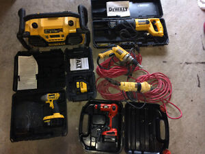 Ensemble d'outils dewalt et black and decker West Island Greater Montréal image 9
