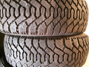4 x 2055516 205/55r16 goodyear hiver winter