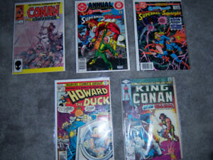 Comic  $6.00 each  bagged & boarded
