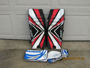 Road Hockey Goalie Glove and Blocker