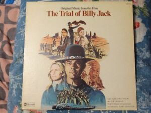 Vinyl Record - The Trial Of Billy Jack Soundtrack. 1974