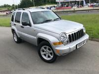 2005 Jeep Cherokee 3.7 ( 201bhp ) 4X4 Auto Limited - Only 52688 Miles