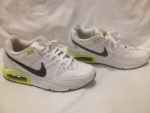 Ladies White Nike Air Max 'Command' Sneakers 41M