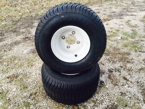 Snowmobile and boat trailer tires