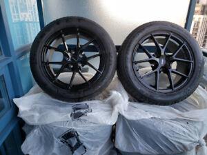 "Michelin Pilot Sport A/S 3  Tires + ""Fast"" Rims 17 inch-Set of 4"