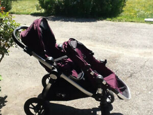 Poussette Baby jogger City Select double stroller