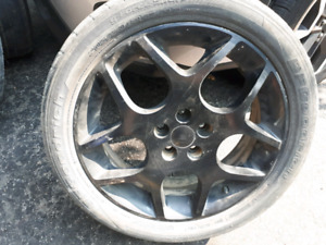 17 inch aluminum rims 5x100 from SRT 4
