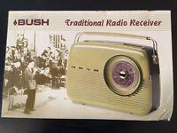BNIB Bush Traditional Radio Receiver