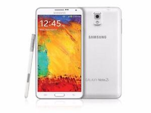Brand New Samsung Galaxy note 3 32gb white/Black Unlocked in Mint Condition!