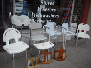 commodes and other helpful items