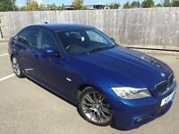 2011 BMW 320d series M Sport 6 speed manual diesel full leather service history