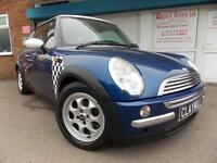 Mini Mini 1.6 Cooper Petrol Manual Blue/White, 2003 (03)