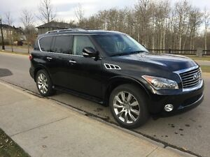 2013 Infiniti QX56 7-pass, fully loaded, + set of winter tires