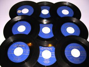 Duane Eddy - Lot de 9   45 tours vinyles - de 1959 à 1961