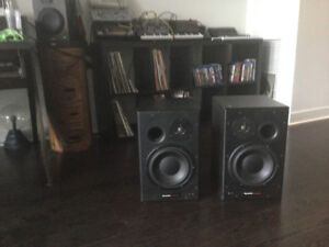 DYNAUDIO BM 15A studio monitors for sale .