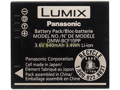 Panasonic DMW-BLCF10PP batteria originale x fotocamere digitali Lumix.