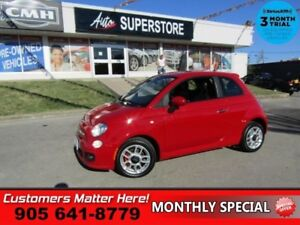 2013 Fiat 500 Sport  BLUETOOTH POWER GROUP ALLOYS