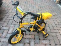 Boys bike -hardly used