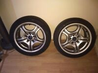 "17"" bmw alloys"