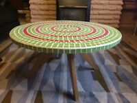 Hand Designed mosaic Coffee Table