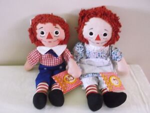Collectible Raggedy Ann and Andy Dolls