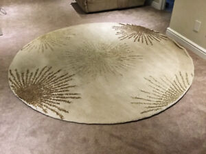 Round area rug for sale