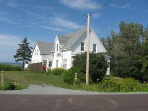 Century Old Farmhouse on Northumberland Strait