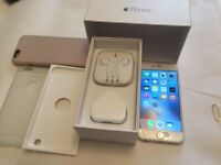Apple iPhone 6 silver 16 GB in very good condition unlocked to any network