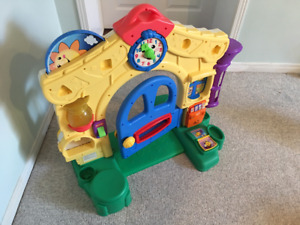 Maison musicale Fisher Price