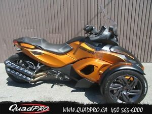 2013 Can-Am SPYDER RSS SM5 57,60$/SEMAINE