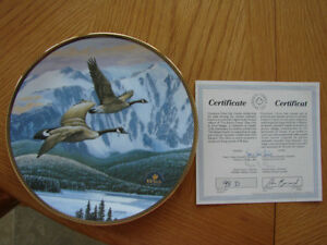 """The Return Home"" Collector Plate"