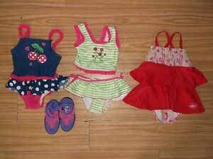 3 BATHING SUITS 12-18 MTHS FOR SALE