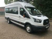 2017 Ford Transit 460 L4 H3 Base 2.2 125ps DRW - 17 Seater Minibus Diesel Manual